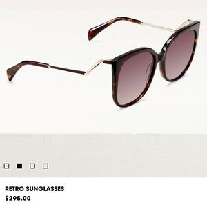 Maje retro sunglasses